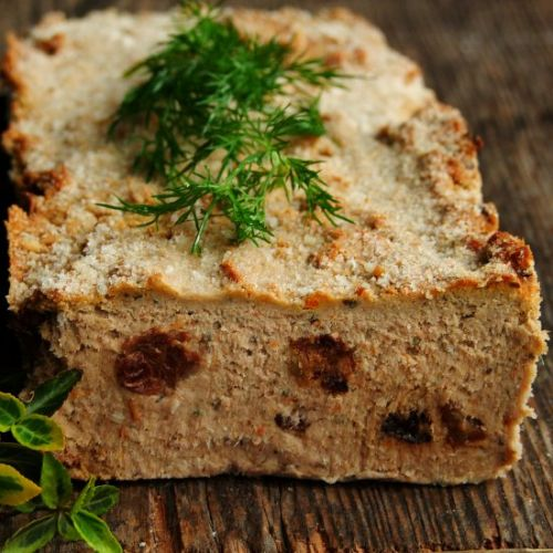 Homemade pate