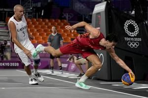 Playground goes big time; 3-on-3 hoops hits the Olympics
