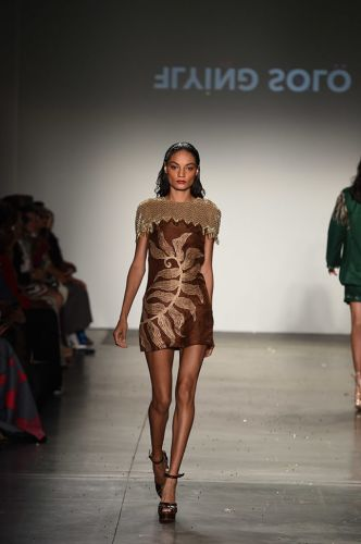 Flying Solo's NYFW Runway Showcased Multiple Couture Designers