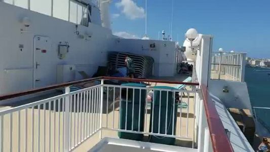 Thanksgiving cruise comes to abrupt stop in Puerto Rico