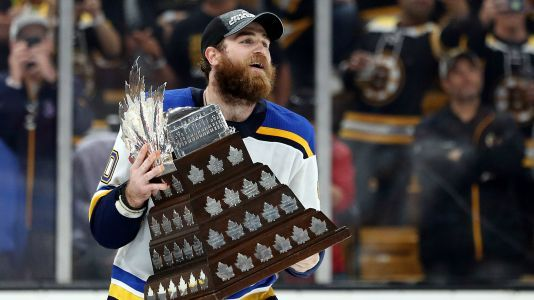 Stanley Cup playoff MVP Ryan O'Reilly played through cracked ribs since first round