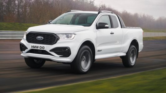 The Ford Ranger MS-RT Is Bringing '90s Sport Truck Vibes To Europe