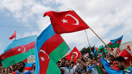 'Azerbaijan is not alone': Ankara throws weight behind Baku as fighting rages on over disputed Nagorno-Karabakh region