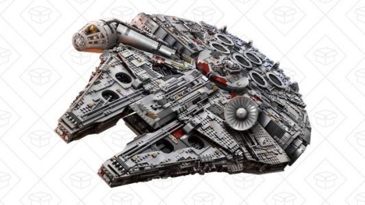 LEGO's 7,500+ Piece Millennium Falcon Is Back In Stock, If You Hurry