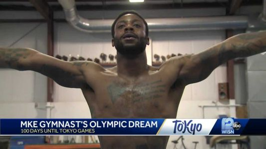 'Ready to go after it': Gymnast hopes to go for gold at Tokyo Olympics