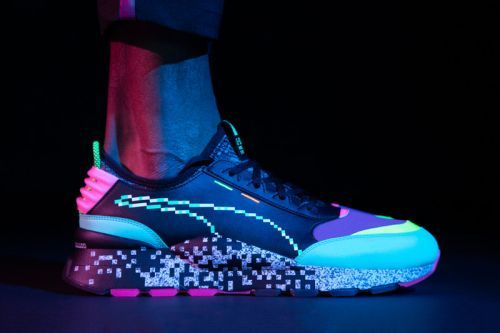 """Return to the '90s With PUMA's Video Game Influenced RS-0 """"Game Error"""""""