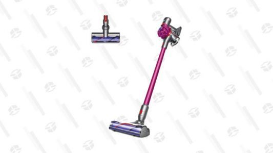 Cut the Cord on Cleaning: Dyson's V7 Fluffy Is $50 off at Newegg