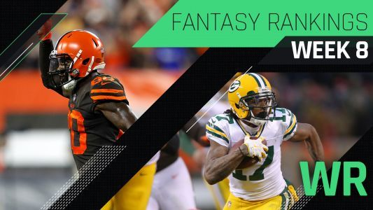 Week 8 Fantasy Rankings: WR