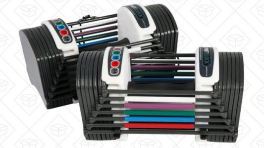Anyone Can Find Space For This Adjustable Dumbbell Set
