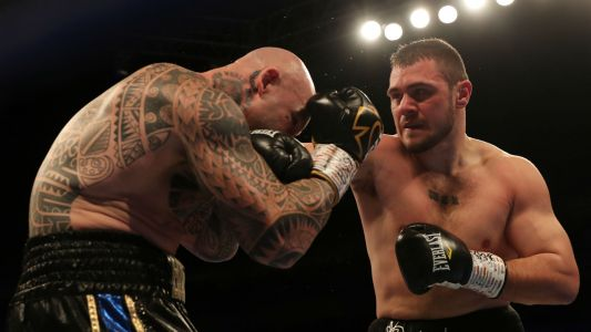 Dave Allen scores knockout over Lucas Brown with savage kidney punch