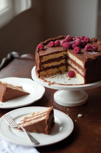 Triple-Decker Birthday Cake