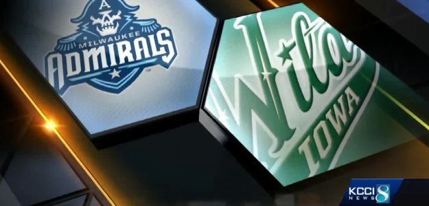 Good Wild hunting! Iowa takes down Milwaukee in game one of Calder Cup playoffs