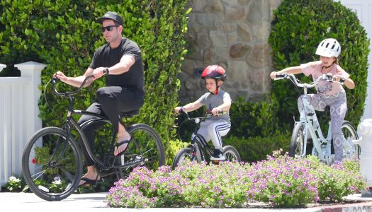Tarek El Moussa and Girlfriend Heather Rae Young Take His Kids for a Bike Ride