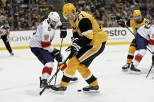 Murray shines again, Penguins drop Panthers 5-1