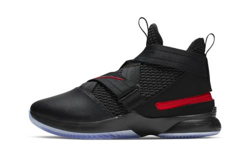 """Nike LeBron Soldier 12 Flyease Gets a """"Bred"""" Makeover"""