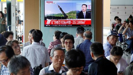 'It is up to US to avert catastrophe of 'declared war' on North Korea'