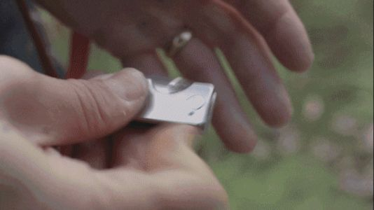 Slice 15% Off This Impossibly Small Titanium Pocket Knife