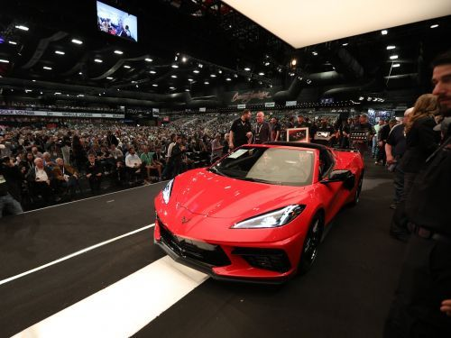 The first example of the new 2020 Chevrolet Corvette Stingray just sold at auction for $3 million