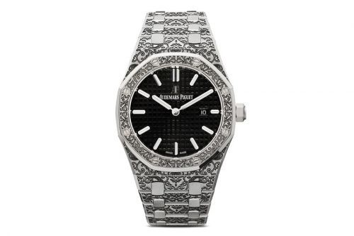 "MAD Paris Adds ""Grande Fleur"" Engraving to Audemars Piguet's Royal Oak 33mm Watch"