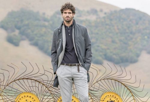 Juan Betancourt Escapes Outdoors for Eleventy Spring '18 Campaign