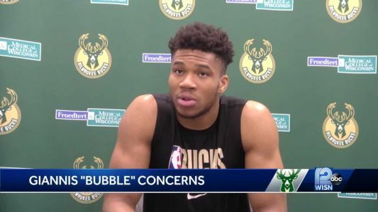 Giannis has some concerns about NBA 'bubble'