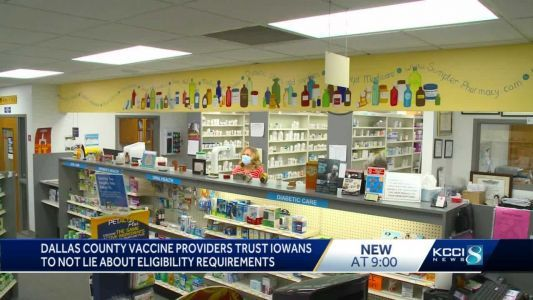 COVID-19 vaccine providers rely on truthful Iowans as eligibility expands