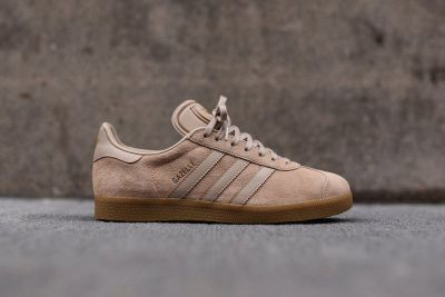 Adidas Originals' Gazelle Model Adds Sand Coloring to a Premium Upper