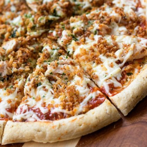 Easy Chicken Parmesan Pizza