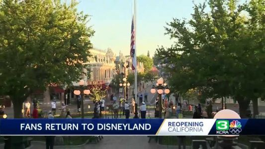 Disneyland to end mask requirements for fully vaccinated guests on June 15, allow out-of-state visitors