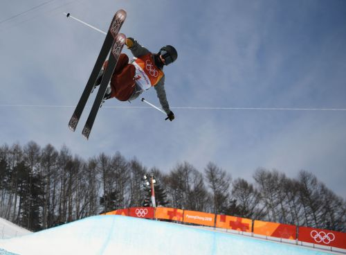 2018 Winter Olympics: US freestyle skiers show style in qualification round