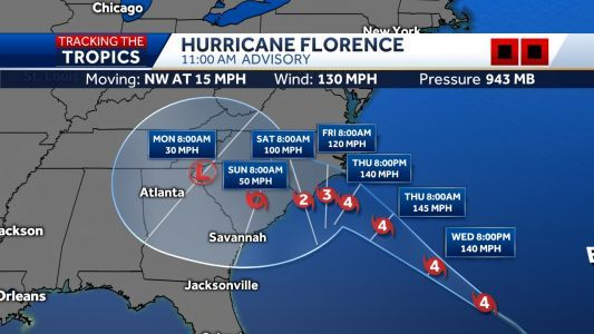 Tracking the storm: Deep dive into paths of Hurricanes Florence, Isaac and Helene