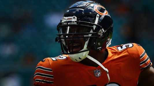 Khalil Mack injury update: Bears star questionable for game against Patriots