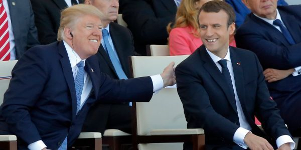 Macron and Trump's bromance is big, but experts warn it might not be enough to get things done