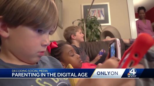 WYFF News 4's Geoff Hart takes a look at parenting in the digital age