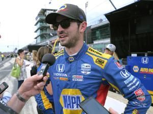 Rossi finishes second to Pagenaud in dramatic Indy 500