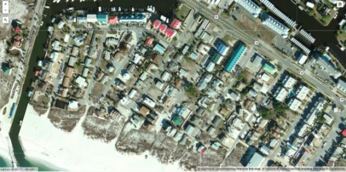 Before and After Aerial Maps Show the Miles of Destruction Left by Hurricane Michael