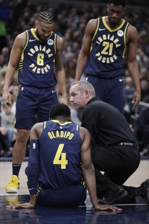 Pacers All-Star Victor Oladipo suffers serious knee injury