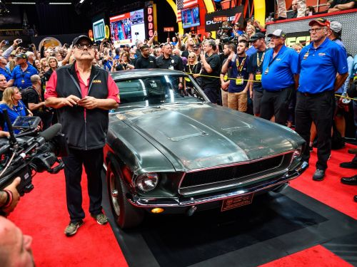 The Ford Mustang driven by Steve McQueen in 'Bullitt' just auctioned for $3.74 million making it the most expensive in the world