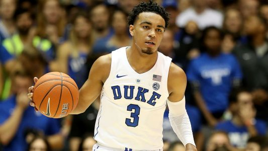 Duke guard Tre Jones' shoulder injury not season ending, considered day-to-day, report says