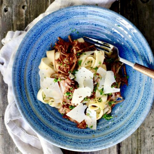 Beef Ragù With Pappardelle