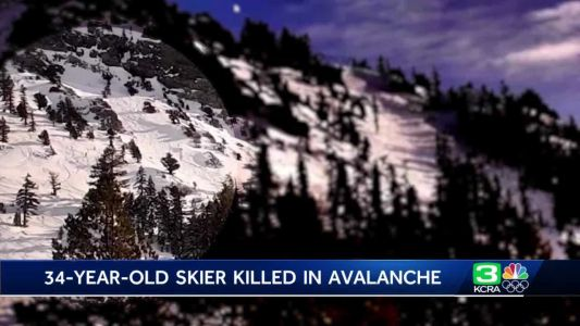 1 dead, 1 injured in avalanche at Tahoe ski resort