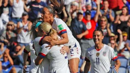 U.S. Continues Dominance In Women's World Cup With 3-0 Win Over Chile