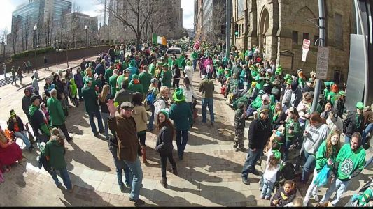 WATCH LIVE: Pittsburgh St. Patrick's Day Parade is getting underway!