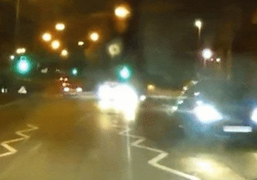 Man banned from driving for 4 years after chaotic rollover crash caught on cam