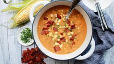 This Creamless Corn Chowder Is Somehow Dairy Free