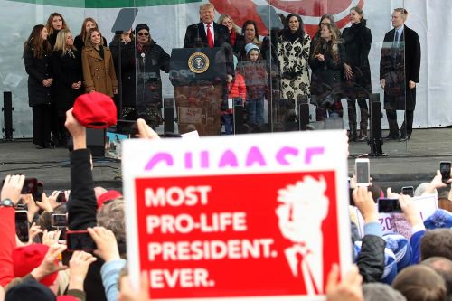 Once 'pro-choice in every respect,' Trump cements his status as an anti-abortion hero