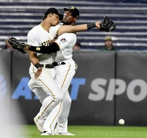 Lyles, Marte, González injured in Pirates' win over Giants