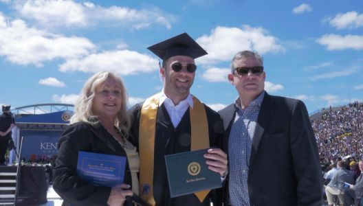 Julian Edelman finally gets degree 14 years after starting college