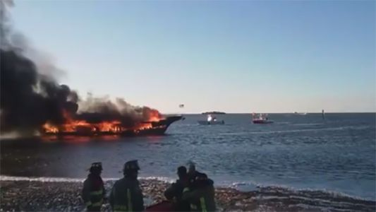 Authorities identify passenger who died after Gulf Coast boat fire