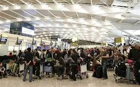 Scores of delays, cancellations and diversions at Heathrow leaves over 50,000 stranded